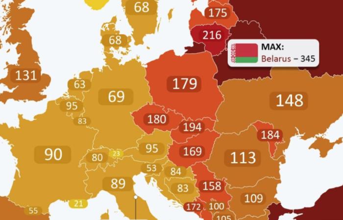 Беларусь обогнала Россию по количеству заключенных!